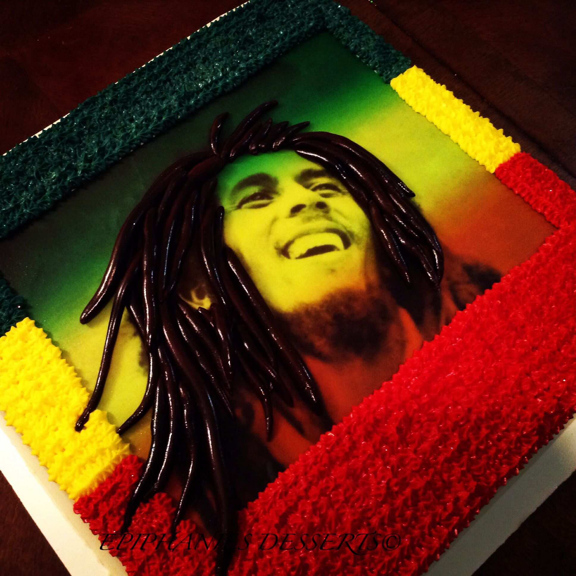 Bob Marley Cake Epiphanies Dessert Realizations