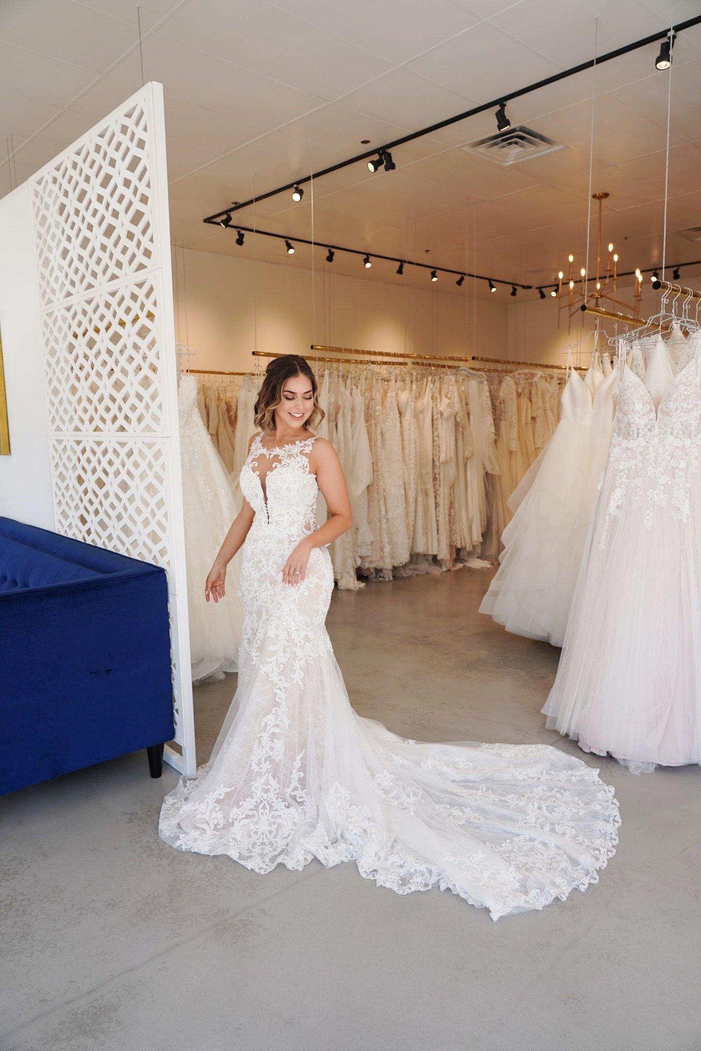 Wedding Dress Try On With Essense Of Australia Wedding Dresses Wedding Dresses Lace Dresses [ 2160 x 1440 Pixel ]