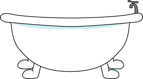 bathtub clipart bathtub clip art image large with bathtub with a rh pinterest com bathtub clipart free bathtub clipart black and white