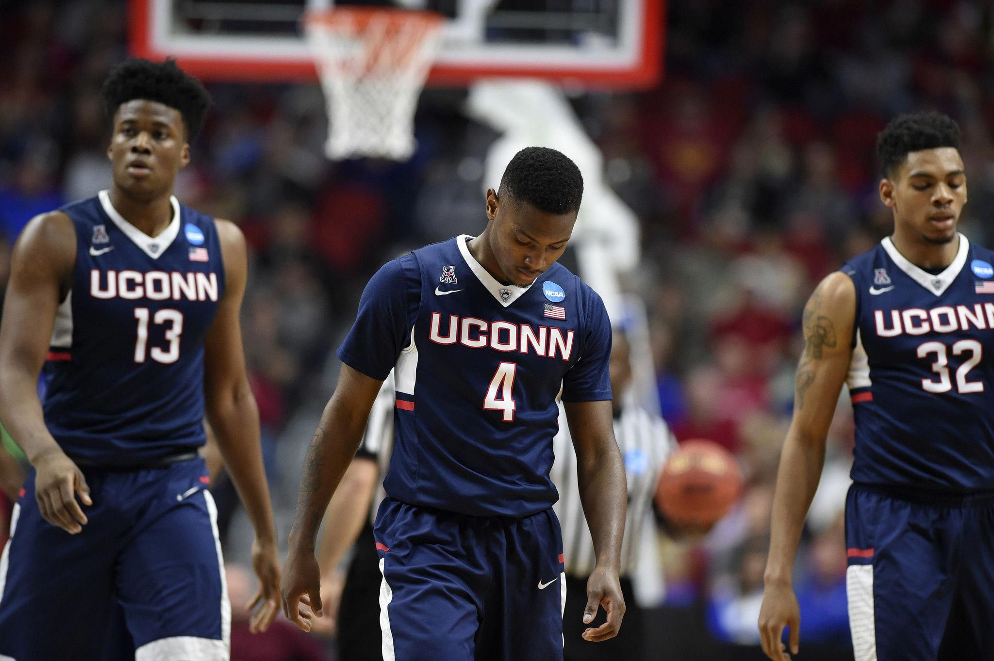 the uconn men's basketball team is putting the finishing touches on