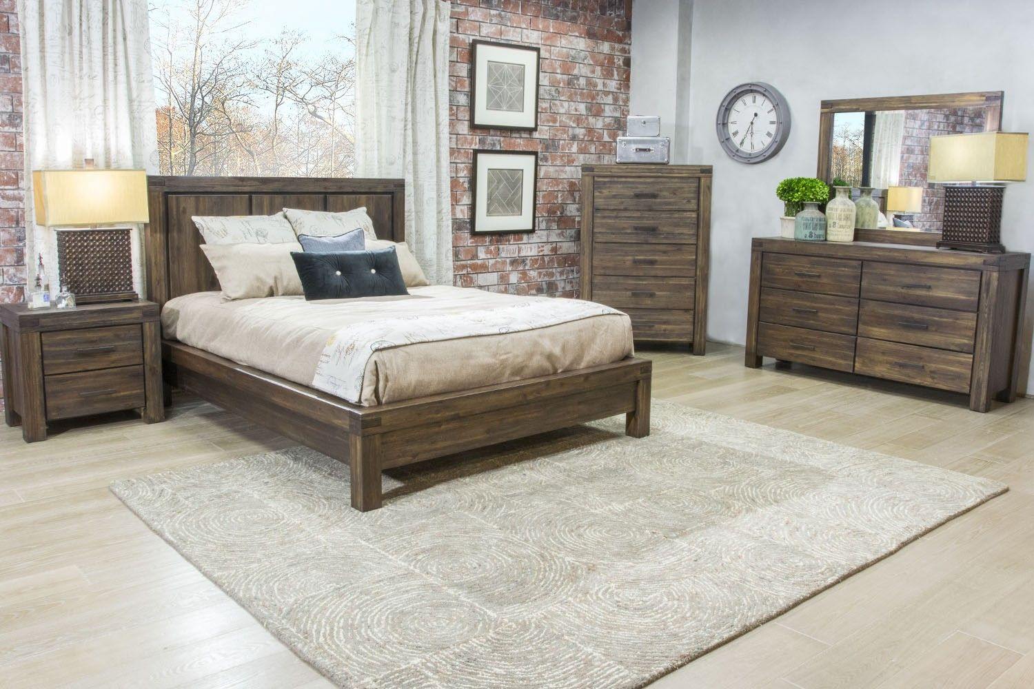 The Meadow Bedroom combines country and contemporary