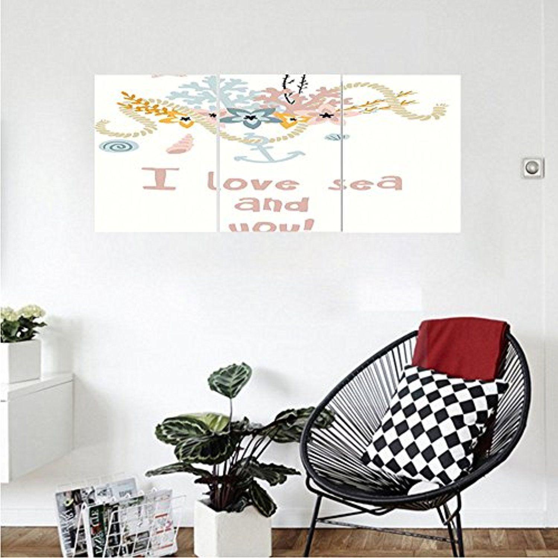 Liguo custom canvas summer decor collection nautical anchor