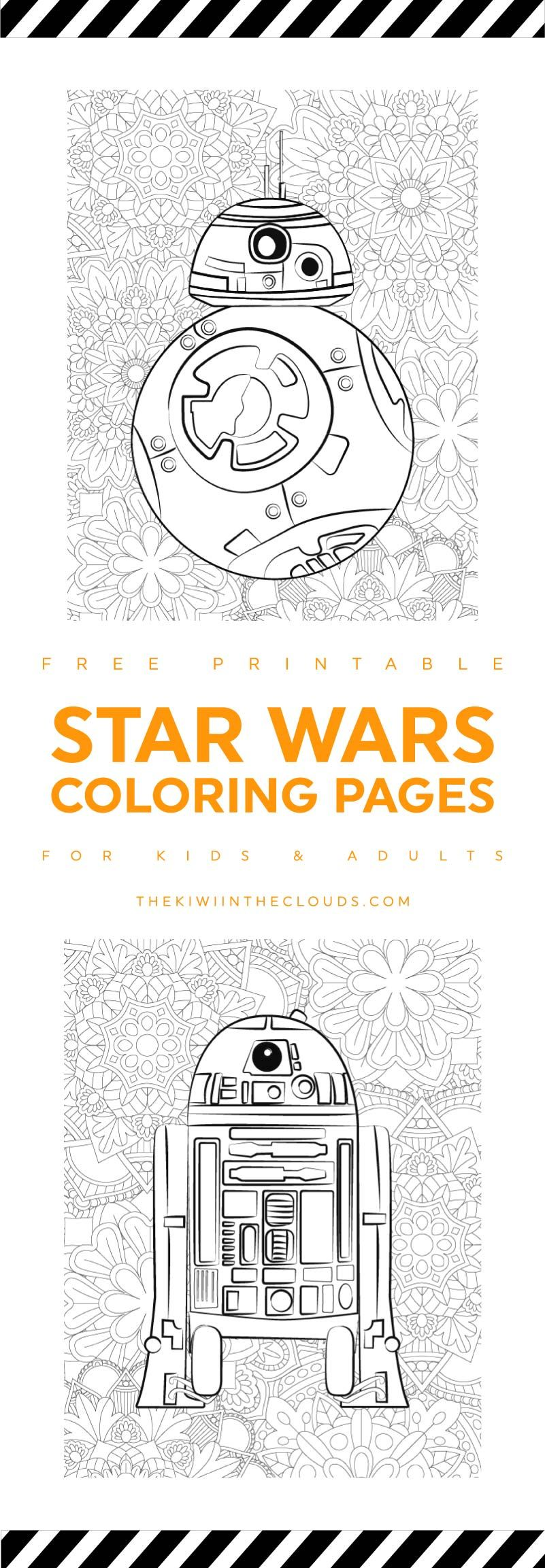 These Star Wars Printable Coloring Pages Are The Obi-Wans You\'ll ...