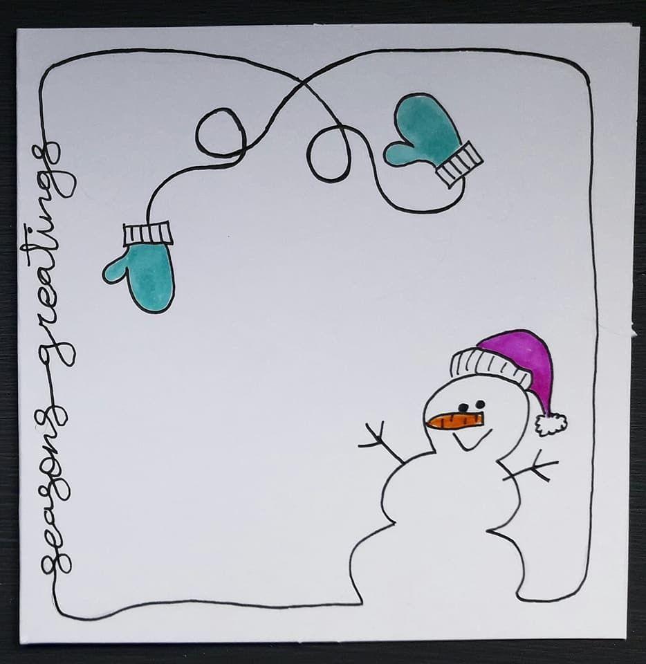 Dibujos Navideos Sencillos. Bonitos Y Sencillos Dibujos Para Pintar ...