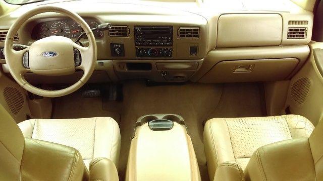 2002 Ford F 350 Super Duty Lariat Crew Cab Drw 4x4 Truck Interior