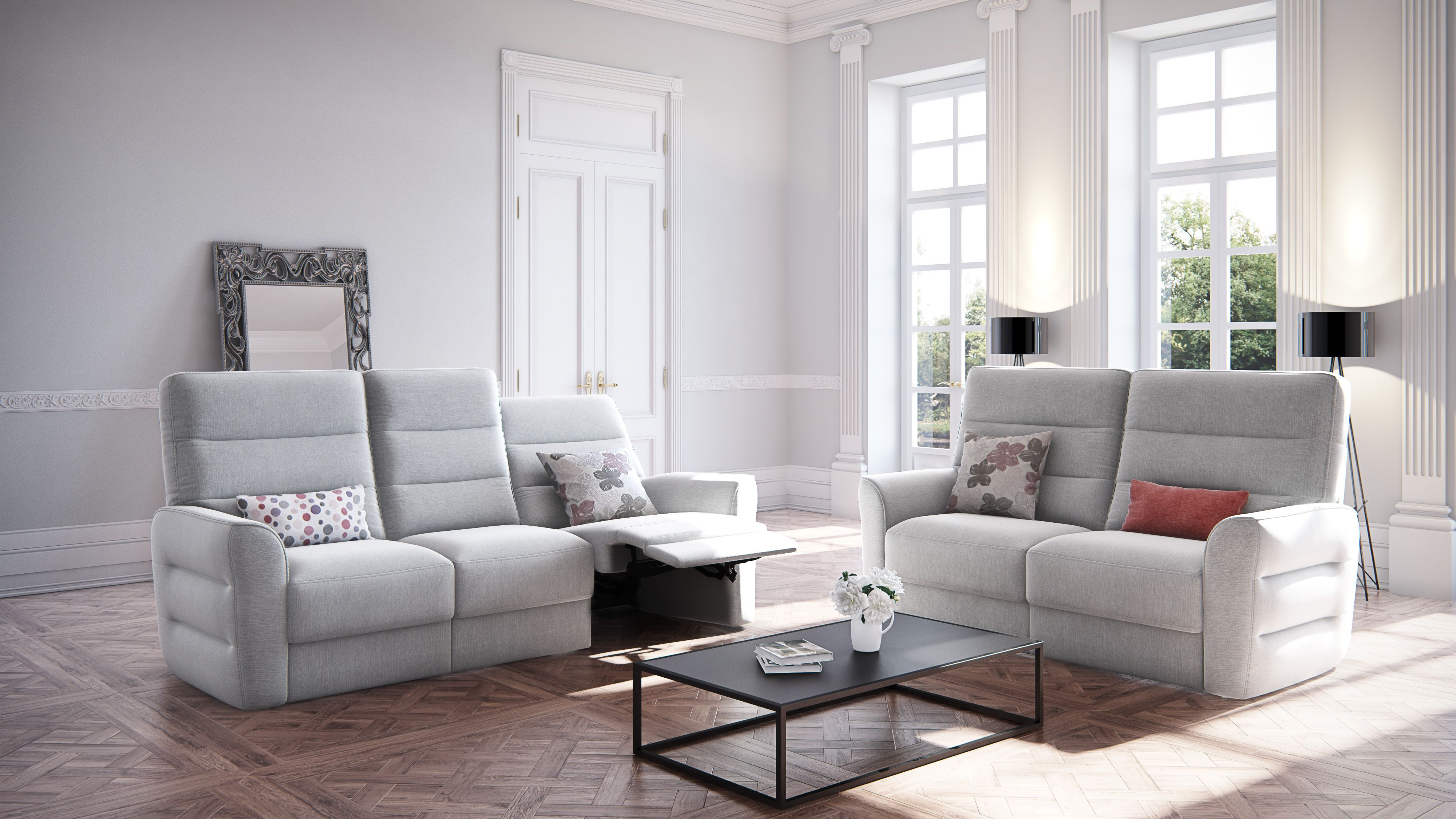 bining both fort and function perfectly Bellona Sofa from