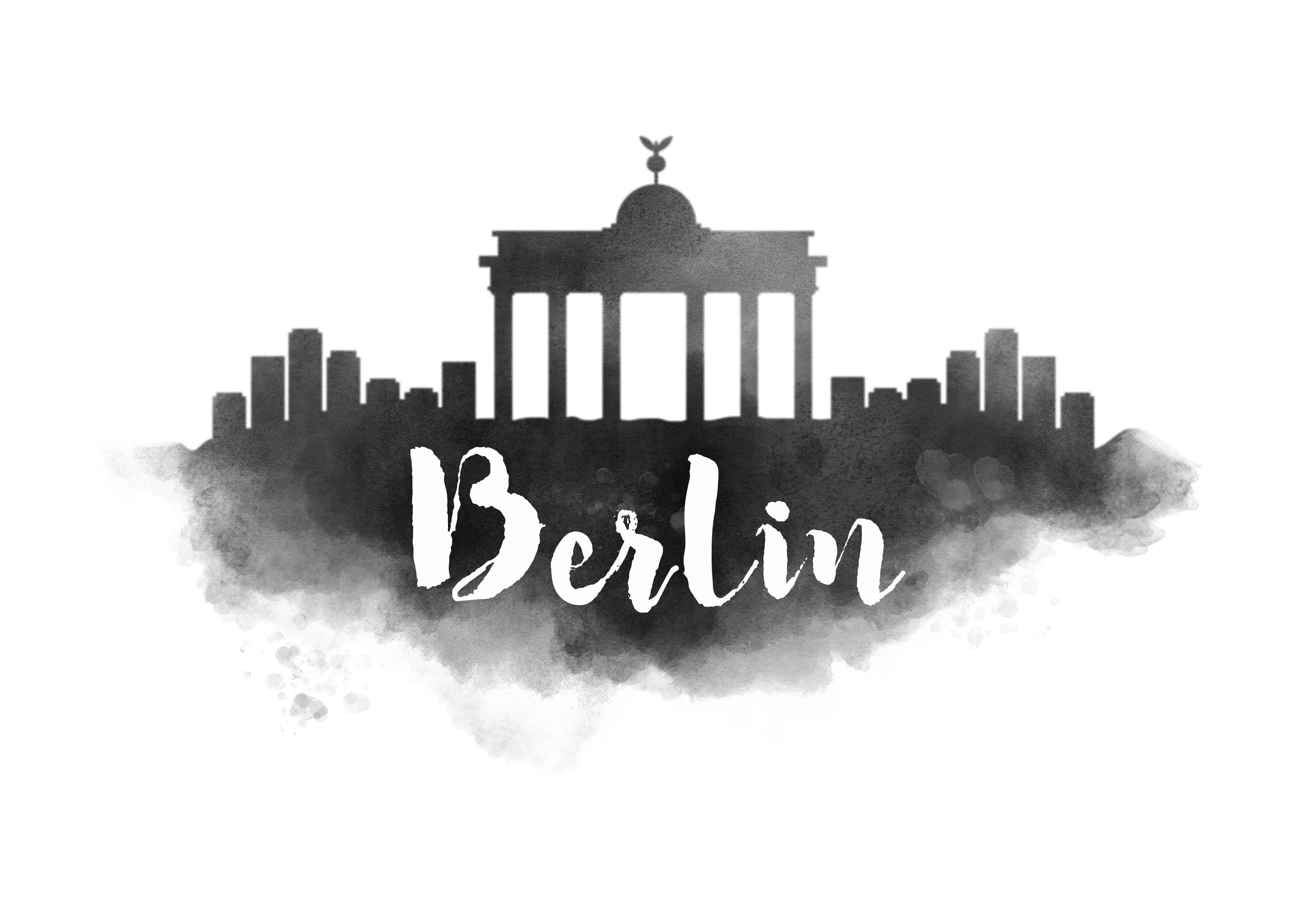 Watercolor Berlin Skyline Berlin Phoenixtattoosimple Skyline In 2020 Instagram Bilder Instagram Ideen Bilder