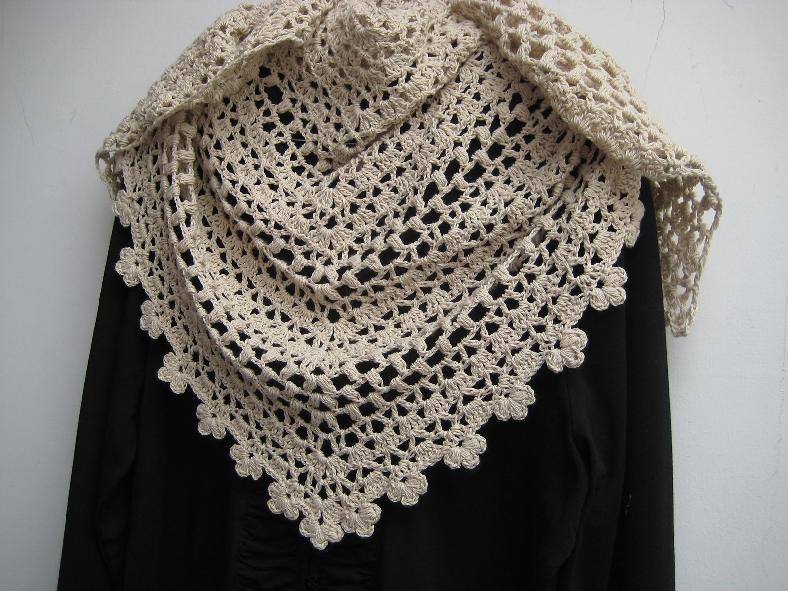 Ravelry: Seems Like Old Times Shawl - Free Crochet Pattern | Crochet ...