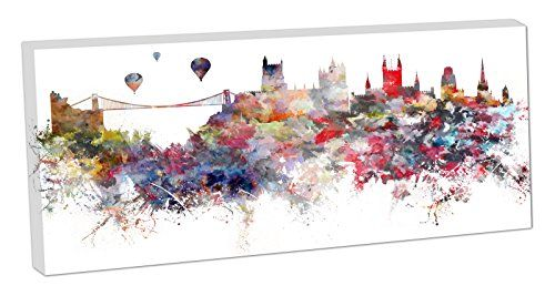 skyline of bristol paintings - Google Search