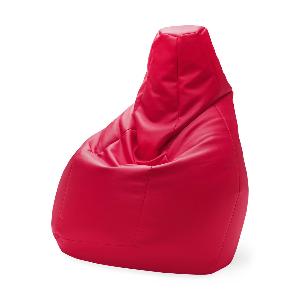Sacco Chair Red In Color Red Amazing Design