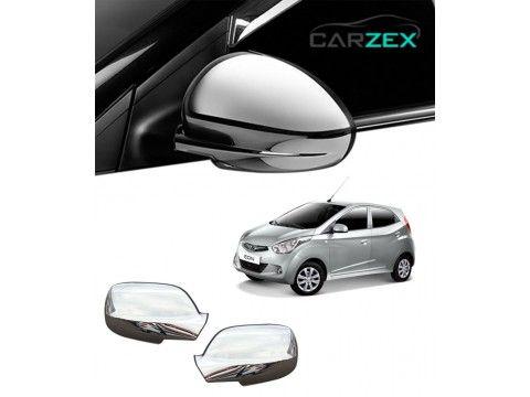 Car Chrome Side View Mirror Cover Hyundai Eon Car Chrome