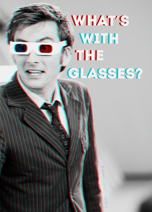 What's with the glasses? #doctorwho