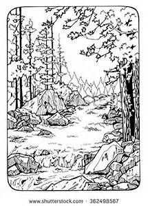 Scenic Coloring Pages For Adults Bing Images Coloring Pages