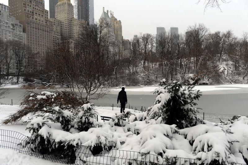 ประมวลภาพ : สหรัฐฯ เผชิญอากาศหนาวบางพื้นที่ -50 องศา