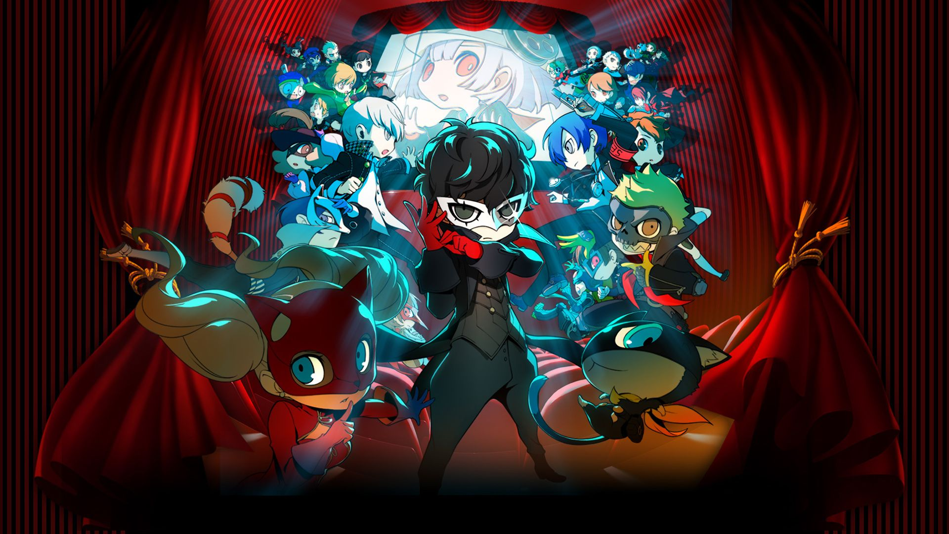 Full Persona Q2 Trailer And Official Artwork Released With Images Persona Q New Cinema Persona