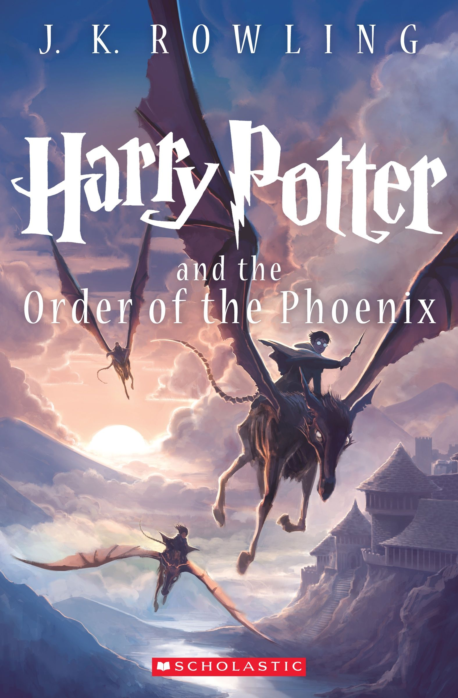 Harry Potter And The Order Of The Phoenix New Artwork By Kazu Kibuishi Harry Potter Book Covers New Harry Potter Book Rowling Harry Potter