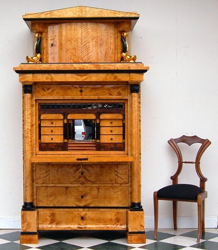 biedemeier secretary chair furniture pinterest. Black Bedroom Furniture Sets. Home Design Ideas