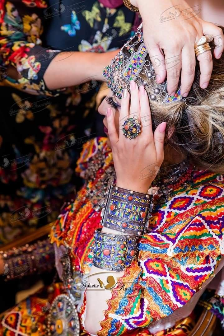 Kabyle Wedding Dress and jewels, Algeria