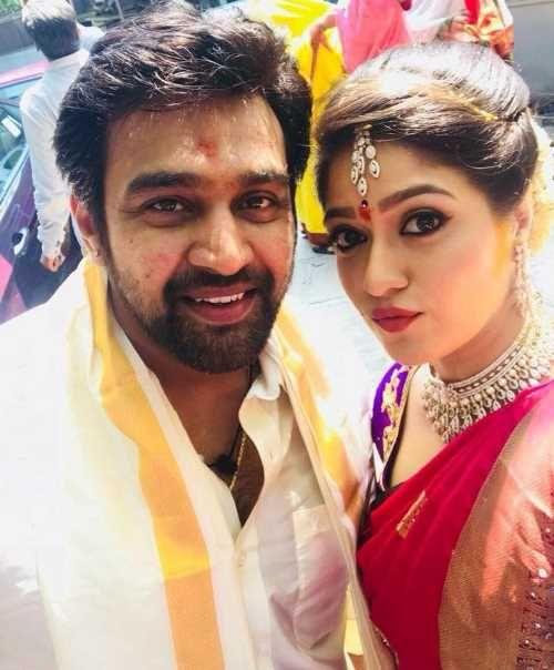 Chiranjeevi Sarja Gets Engaged With Meghana Raj Bride Hairstyles Indian Celebrities Marriage Stills