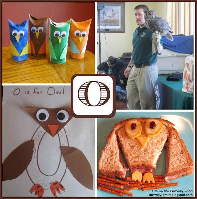 Learning About The Letter O And Studying Owls O Preschool