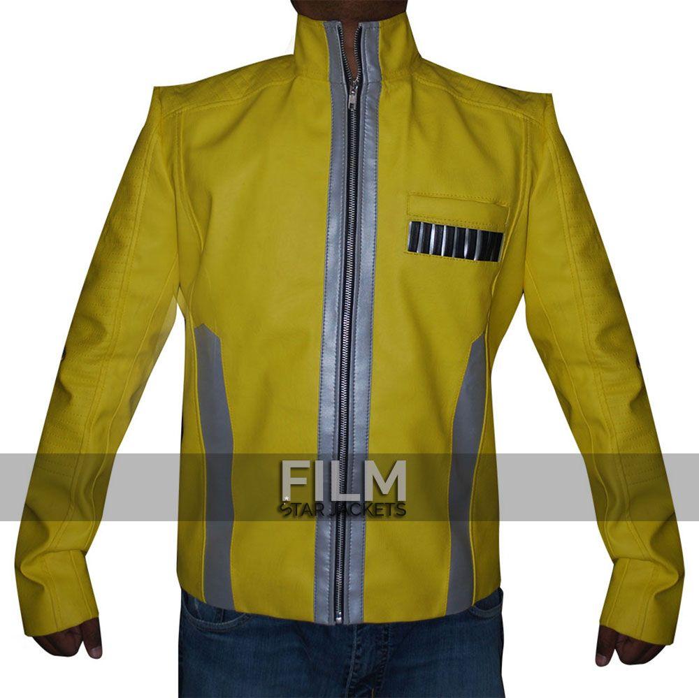 Luke Skywalker Star Wars New Hope Yellow Jacket Leather Jacket Men Star Wars Jacket Leather Jacket