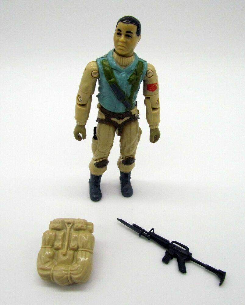 GI Joe Vehicle Tomahawk Chin Gun Left Side Cap 1986 Original Part