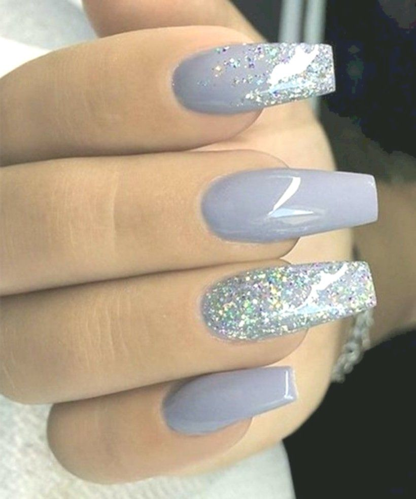 13+ Cute Acrylic Nails For Winter Acrylic nail art is among the most ...