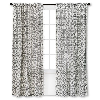 Target 24 99 Threshold Moroccan Tile Curtain Panel Kitchen