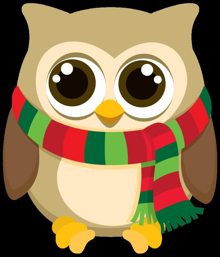 Pin by Jessica Brenner on december owl | Owl clip art ...