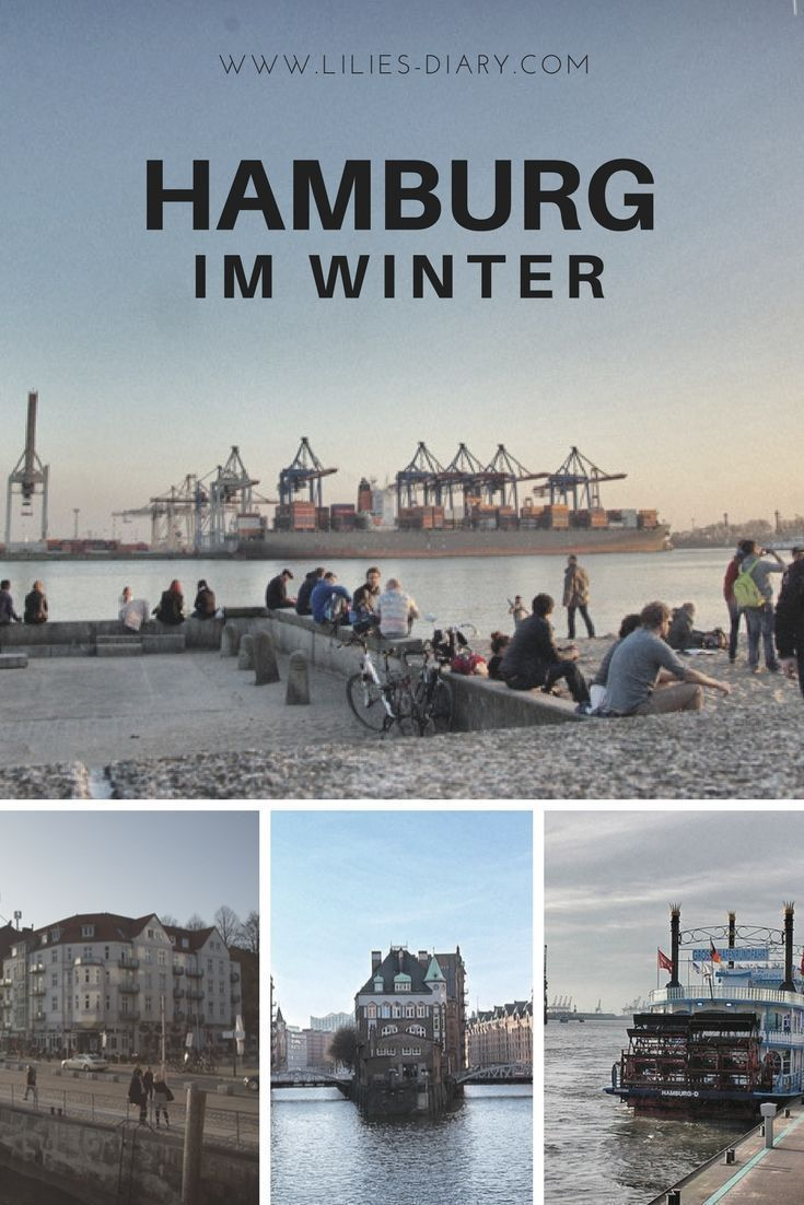 Photo of Hamburg in winter – the perfect hotel with a harbor sauna!