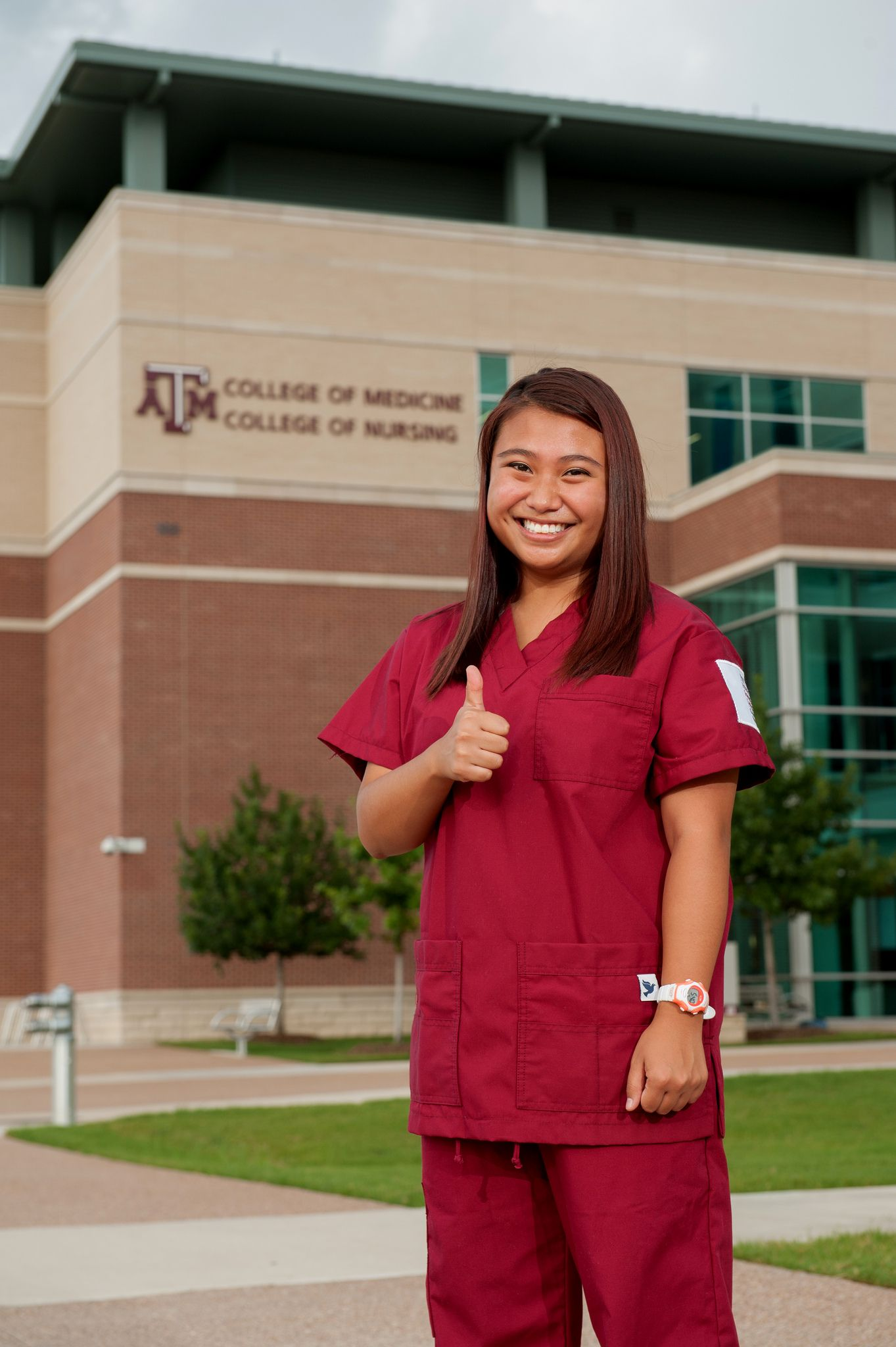 Our nurses wear MAROON! gigem aggie TAMHSC tamu Top