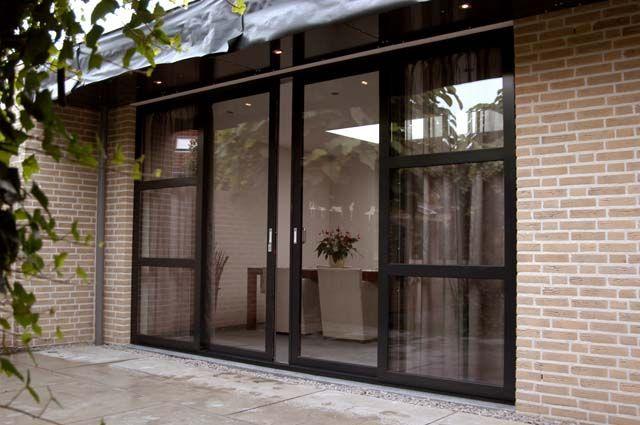 schuifpui tuinzijde verbouwing pinterest terrassent r fenster und fenster t ren. Black Bedroom Furniture Sets. Home Design Ideas