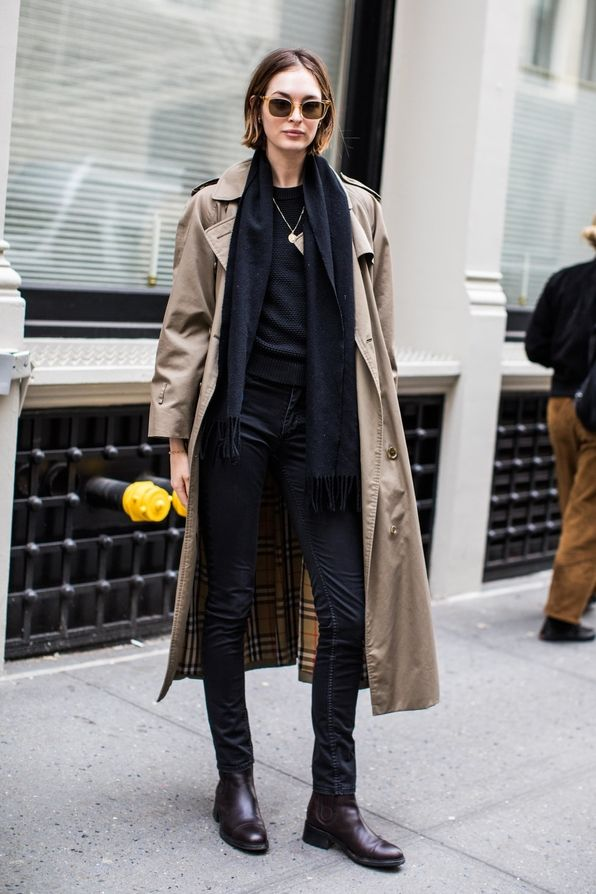 street style from new york fashion week fall winter 2018. Black Bedroom Furniture Sets. Home Design Ideas