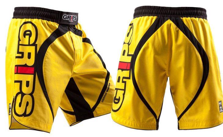Grips Athletics Miura Evo Fight Shorts Yellow At Http Www Fighterstyle Com Grips Athletics Miura Evo Fight Shorts Fight Shorts Mma Gear Shorts