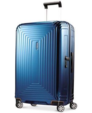 """Samsonite Neopulse 28"""" Hardside Spinner Suitcase - Blue"""