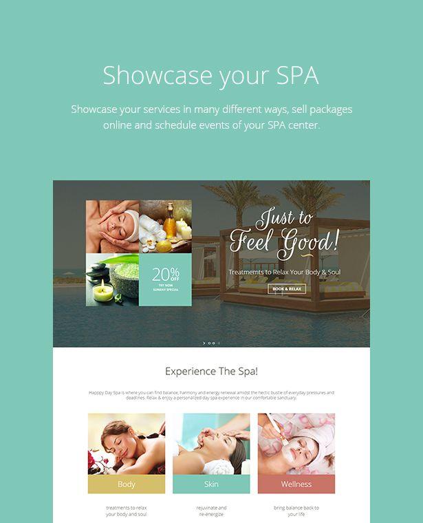 Wellness SPA - Resort, SPA & Beauty Salon WordPress Theme