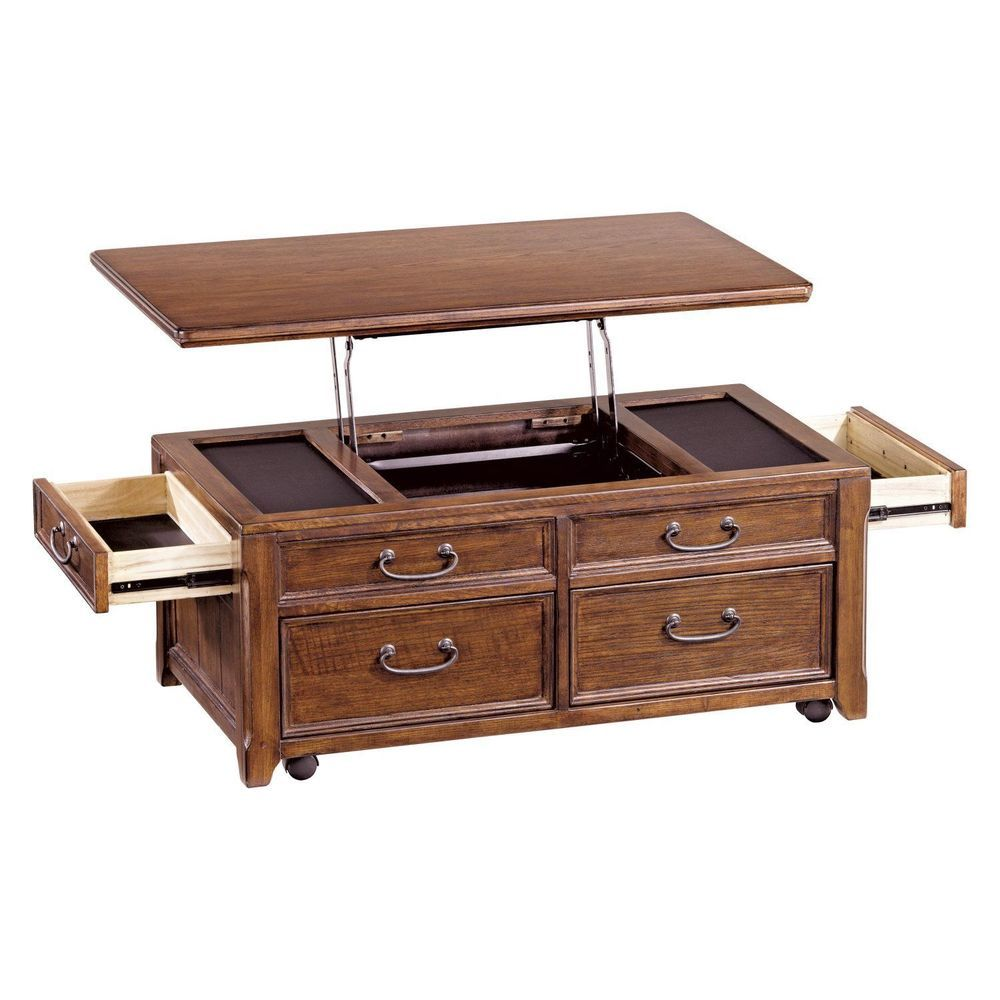 Lift Top Coffee Table Vintage Storage Drawers Cocktail Chaise Cabinet Furniture Lifttopcoffee Table Vintage Deco Maison Maison [ 1000 x 1000 Pixel ]