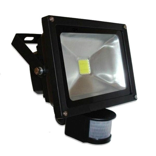 Foco 10w O 20w Led Ip65 Con Detector De Movimiento Led Flood Lights Led Flood Led