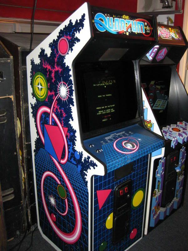 Atari Quantum Arcade Machine | arcade | Pinterest | Arcade and ...