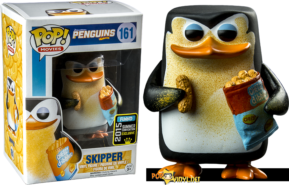 Popcultcha recently posted the Penguins Skipper Conventions