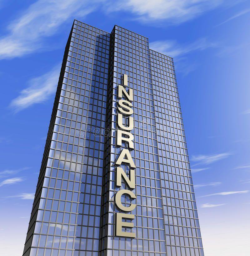 Insurance Company Headquartered One 3d Render Of A Skyscraper