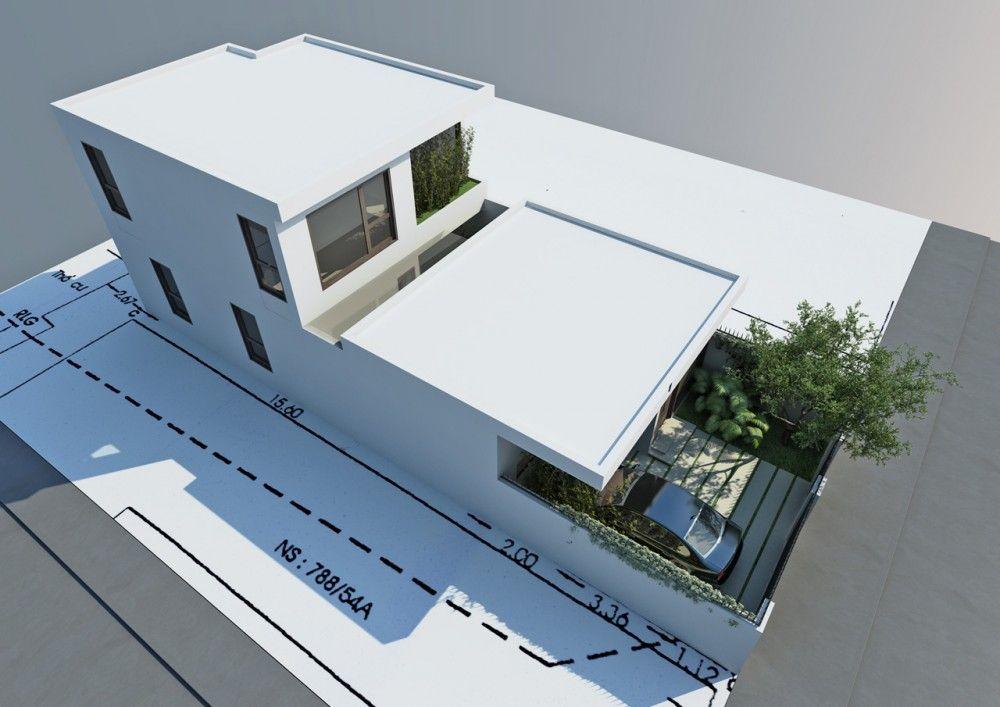 Modern architecture visualization