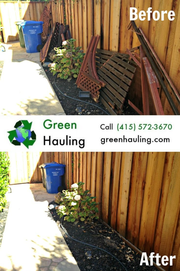 Green Hauling can take care of that pile of junk in one day! We\'re ...