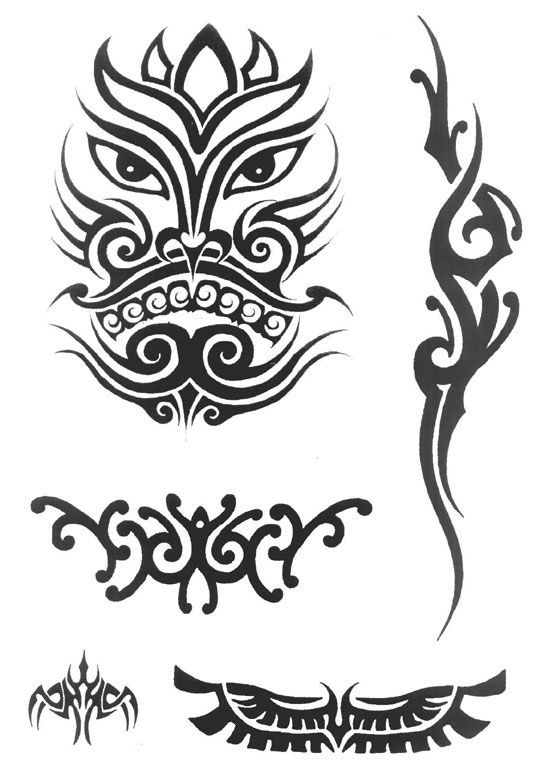 Tribal Tattoo Website: Tack A Look At Tribal Design Tatoo Amazing Site -http