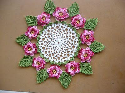 Rose Doily http://grandmotherspatternbook.com/?p=1724