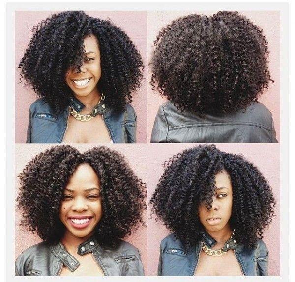 Curly Hair Crochet Styles : 63 best hair styles weaves sewin silk press vixen crochet braids