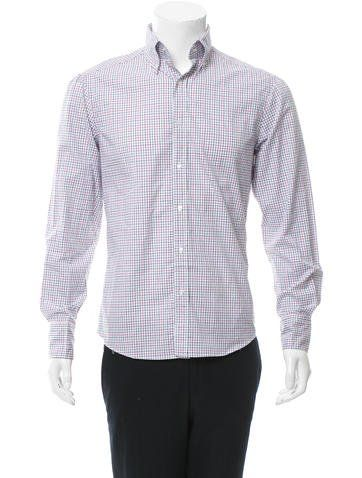 Michael Bastian Windowpane Button-Up Shirt w/ Tags