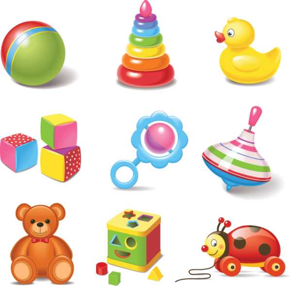 642 Baby Toys Children Illustration Baby Clip Art Toys