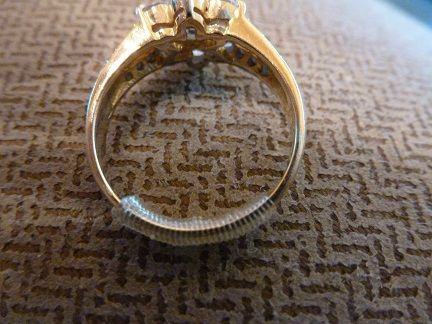 Fish Wire Ring Sizing Tutorial Attempt Weddingbee How To Make Rings Wire Rings Diy Rings