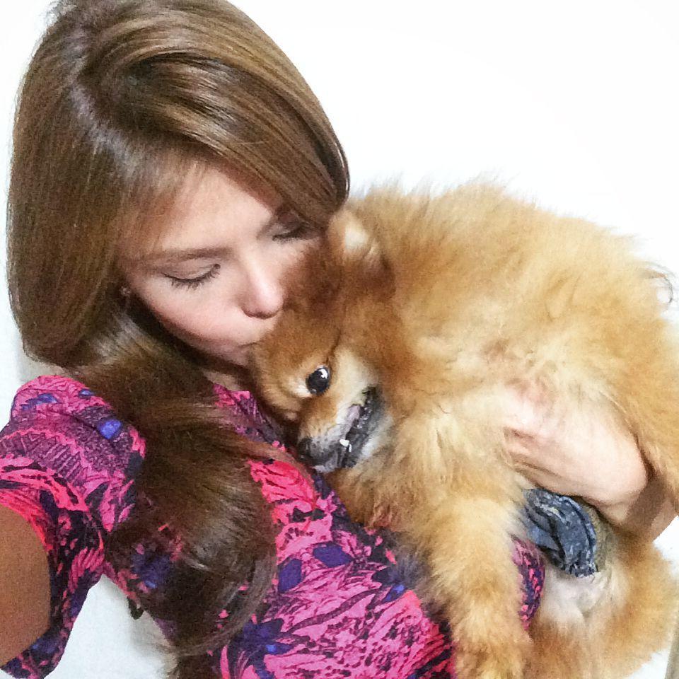My baby #Bobbin... #Bobster #Pomeranian